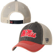 Top of the World Red Ole Miss Rebels Offroad Trucker Adjustable Hat