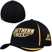 Russell Southern Miss Golden Eagles Sideline Flex Hat - Black