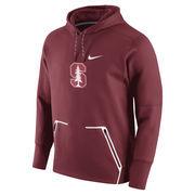 Men's Nike Cardinal Stanford Cardinal Vapor Speed Pullover Hoodie