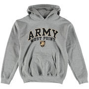 Youth New Agenda Gray Army Black Knights Midsize Hoodie