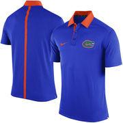Men's Nike Royal Florida Gators 2015 Coaches Sideline Dri-FIT Polo
