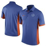 Men's Nike Royal Boise State Broncos Team Issue Performance Polo