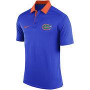 Men's Nike Royal Florida Gators Coaches Sideline Dri-FIT Polo