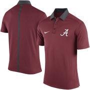 Men's Nike Crimson Alabama Crimson Tide 2015 Coaches Sideline Dri-FIT Polo