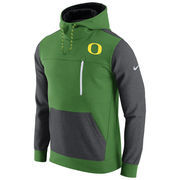 Men's Nike Apple Green/Charcoal Oregon Ducks AV15 Fleece Pullover Hoodie
