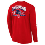 Men's Cardinal Ole Miss Rebels 2016 Sugar Bowl Champions Touchdown Long Sleeve T-Shirt