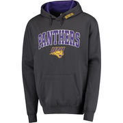 Men's Charcoal Northern Iowa Panthers Arch & Logo Pullover Hoodie