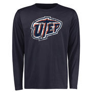 Men's Navy UTEP Miners Big & Tall Classic Primary Long Sleeve T-Shirt