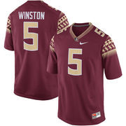 Men's Nike Jameis Winston Garnet Florida State Seminoles Alumni Football Game Jersey