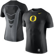 Men's Nike Black Oregon DucksSideline Hypercool 3.0 Dri-FIT Fitted Performance Top