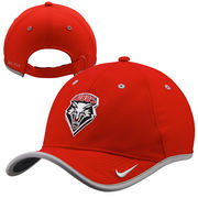 Mens New Mexico Lobos Nike Red Coaches Performance Adjustable Hat