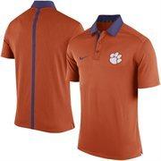 Men's Nike Orange Clemson Tigers 2015 Coaches Sideline Dri-FIT Polo
