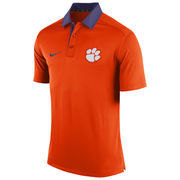 Men's Nike Orange Clemson Tigers Coaches Sideline Dri-FIT Polo