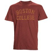 Men's '47 Brand Maroon Boston College Eagles Vintage School Name Scrum T-Shirt