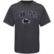 Men's New Agenda Charcoal Penn State Nittany Lions Arch Over Logo T-Shirt