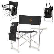 Black Wyoming Cowboys Sports Chair