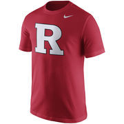 Men's Nike Scarlet Rutgers Scarlet Knights Logo T-Shirt