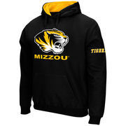Men's Stadium Athletic Black Missouri Tigers Big Logo Pullover Hoodie