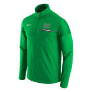 Men's Nike Kelly Green Marshall Thundering Herd Elite Coaches Performance Half-Zip Pullover Jacket