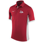 Men's Nike Red Fresno State Bulldogs Team Issue Performance Polo