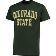 Men's Green Colorado State Rams Basic Arch T-Shirt