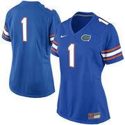 Women's Nike No. 1 Royal Blue Florida Gators Game Jersey