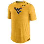 Men's Nike Heathered Gold West Virginia Mountaineers Player Performance T-Shirt