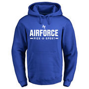 Men's Royal Air Force Falcons Custom Sport Pullover Hoodie