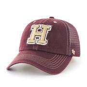 Men's '47 Brand Crimson Harvard Crimson Flexbone Closer Flex Hat