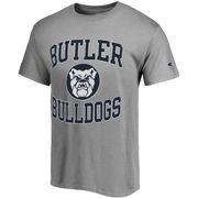 Men's Champion Gray Butler Bulldogs Tradition T-Shirt