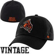 '47 Brand Oklahoma State Cowboys Vault Franchise Fit Flex Hat - Black