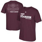 Men's adidas Maroon Mississippi State Bulldogs 2015-2016 True Maroon T-Shirt
