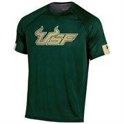 Mens South Florida Bulls Under Armour Green Ultimate Performance T-Shirt