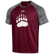 Men's Under Armour Maroon Montana Grizzlies Tech Performance T-Shirt
