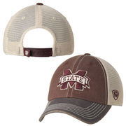Top of the World Maroon Mississippi State Bulldogs Offroad Trucker Adjustable Hat