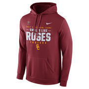 Men's Nike Cardinal USC Trojans 2017 Rose Bowl Bound Verbiage Pullover Hoodie