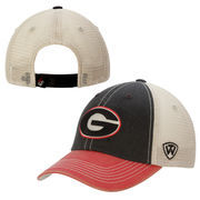 Georgia Bulldogs Top of the World Offroad Trucker Adjustable Hat - Red