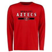 Men's Red San Diego State Aztecs Team Strong Long Sleeve T-Shirt