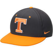 Men's Nike Anthracite/Tennessee Orange Tennessee Volunteers True Vapor Performance Fitted Hat