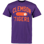 Men's Purple Clemson Tigers Athletic Issued T-Shirt