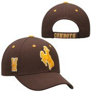 Wyoming Cowboys Top of the World Triple Threat Hat - Brown