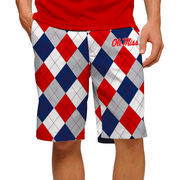 Men's Loudmouth Navy Ole Miss Rebels Shorts