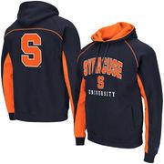 Men's Colosseum Orange Syracuse Orange/Navy Big & Tall Crest Pullover Hoodie