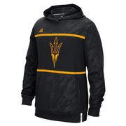 Men's adidas Black Arizona State Sun Devils 2015 Sideline Shock Energy Climalite Performance Hoodie
