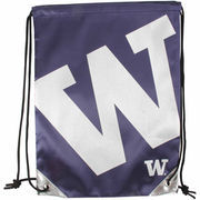 Washington Huskies Metallic Drawstring Backpack