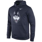 Men's Nike Navy UConn Huskies Practice Performance Hoodie