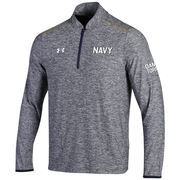 Men's Under Armour Navy Navy Midshipmen Army/Navy Lightweight 1/4 Zip Pullover Performance Jacket