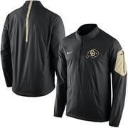 Men's Nike Black Colorado Buffaloes 2015 Football Coaches Sideline Half-Zip Wind Jacket