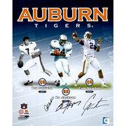 Pat Sullivan, Cam Newton, and Bo Jackson Auburn Tigers Autographed 16