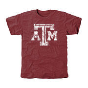 Men's Maroon Texas A&M Aggies Classic Primary Tri-Blend T-Shirt